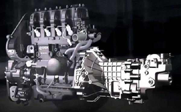 động cơ xe tải nhẹ tata super ace