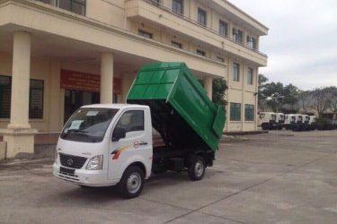 xe tải ben chở rác TATA 1 tấn - 3,4 khối