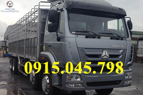 Xe tải thùng TMT SINOTRUK ST336220T (10X4) 22 tấn