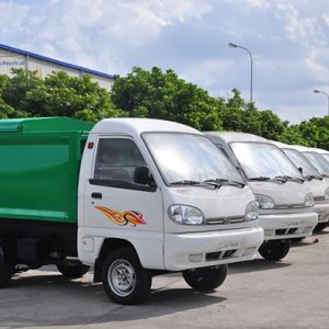 Xe tải TMT TATA SUPER ACE chở rác 900kg