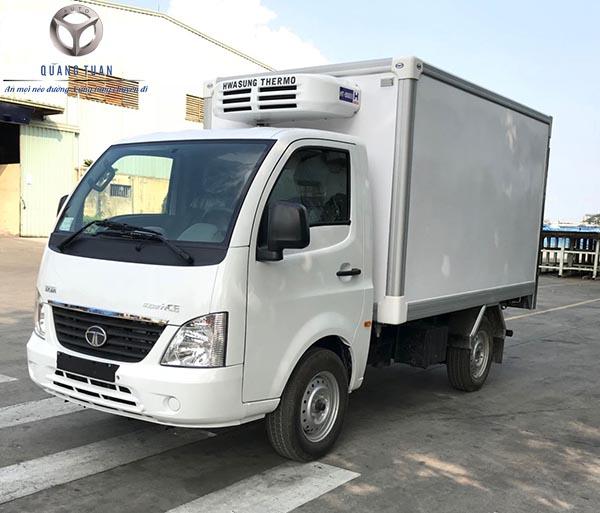 Xe tải TMT TATA SUPER ACE thùng đông lạnh