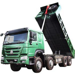 Xe tải ben TMT SINOTRUK ST371160D (8x4) 16 tấn